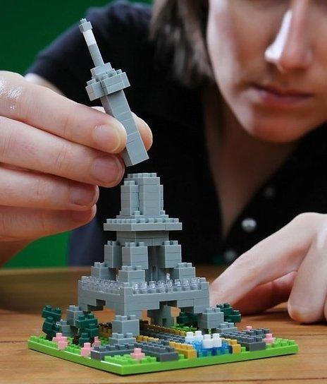 Nanoblock Eiffel Tower   Shut up and take my money!   Scoop.it