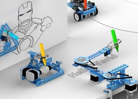 mDrawBot 4-in-1 Arduino Drawing Robot Launches On Kickstarter | Raspberry Pi | Scoop.it
