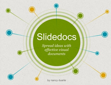 Slidedocs |  Duarte | Prendi eLearning | Scoop.it