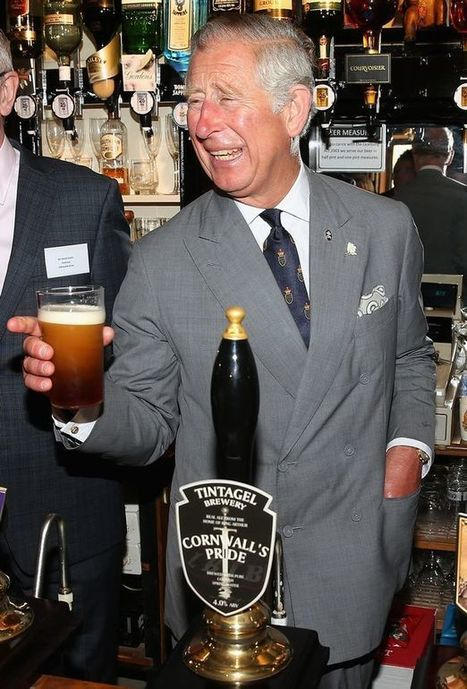 Prince Charles enjoys pint courtesy of a famous ancestor's brewery | International Beer News | Scoop.it