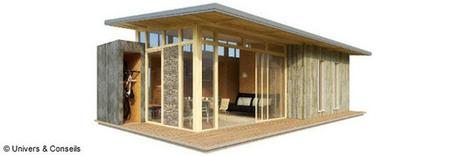 Une maison démontable et durable | Conseil construction de maison | Scoop.it