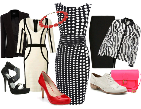 Monochrome: 15 ways to wear the look | Research for preparing a Questionnaire | Scoop.it