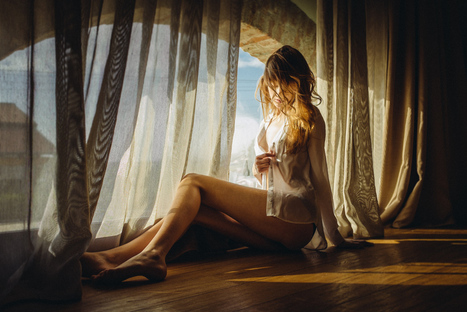 Marion Adam - Boudoir - Andrea Livieri Photography | La perception extra-sensorielle durant telephone sembler etre mi- survol | Scoop.it