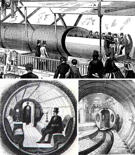 Future Thinking from the Past: Pneumatic Tube Transport Systems - Core77 | GenealoNet | Scoop.it