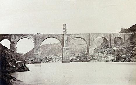 Puente de Alcántara. Laurent, 1870.   Curious World   Scoop.it