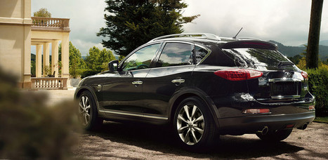 Infiniti QX50 – The World's First Coupe Crossover   Automobiles   Scoop.it