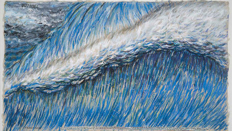 On View   Raymond Pettibon's Surf Paintings Ride Into Manhattan - New York Times (blog)   Surfing   Scoop.it