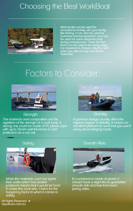 Choosing the Best WorkBoat | Boats | Scoop.it