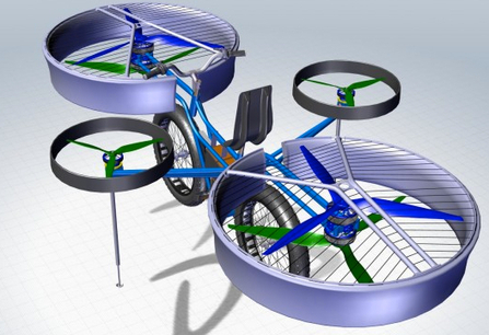 Could the Hover Bike Fly With a Human? | UtopianDynamics | Scoop.it
