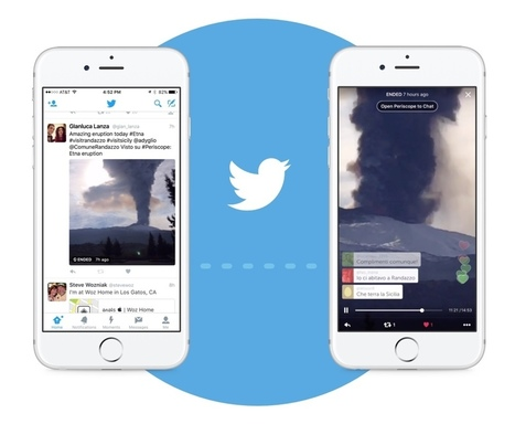 Periscope broadcasts will now play automatically in your Twitter feed | #ShareWisely | Scoop.it