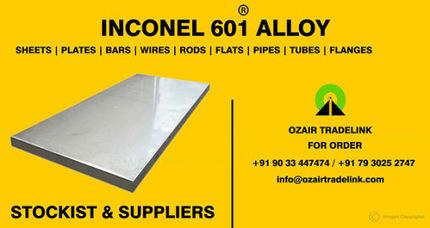 INCONEL 601 ALLOY STOCKIST - Inconel 601 is a nickel-chromium alloy used for… | Gaurav Steel | Scoop.it