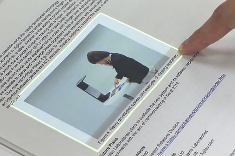 Check Out Fujitsu's Sci-Fi-Worthy Augmented Reality Touchscreen Interface | Video | Digital Marketing 3.0 | Scoop.it