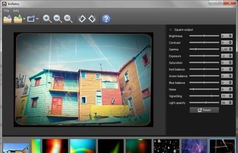 XnRetro, programa para aplicar efectos vintage o retro a tus fotografías | Formación Digital | Scoop.it