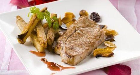 Recette Steaks d'agneau aux amandes et aubergines - Essyndic.com | Cuisine, Recettes et art culinaire | Scoop.it