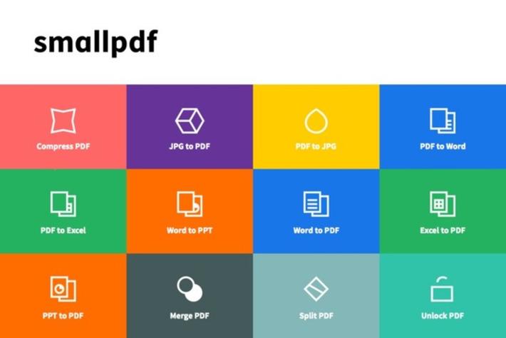 Edu-Curator: Smallpdf, een handige serie gratis web-apps om allerlei soorten bestanden te converteren naar PDF en omgekeerd | Educatief Internet - Gespot op 't Web | Scoop.it