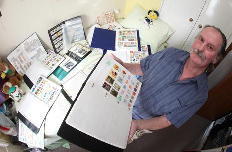LASTING HOBBY: Brian Motteram with some of his stamps - Daily Echo | Stamp Collecting | Scoop.it