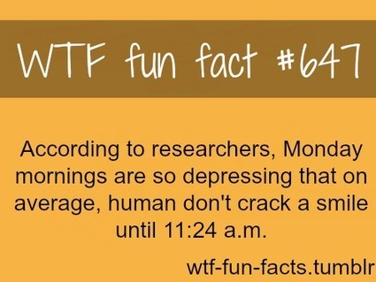 Smiling fun fact #647 | Smiles | Scoop.it