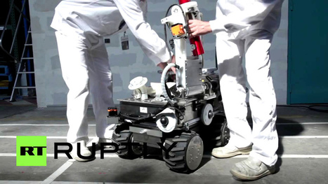 RIANA un robot pour centrales nucléaires | Des robots et des drones | Scoop.it