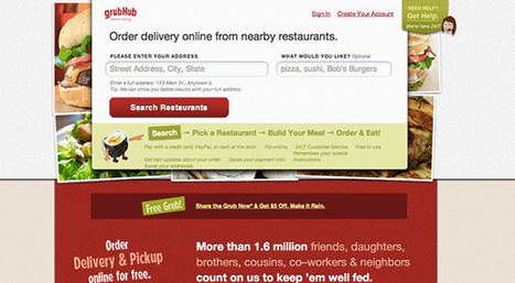 Grubhub Clone - $84.1M - Ordering online food (and more) system - suits every need in any country! | Food Ordering Online System for Restaurants - Grubhub Justeat Clone | Scoop.it