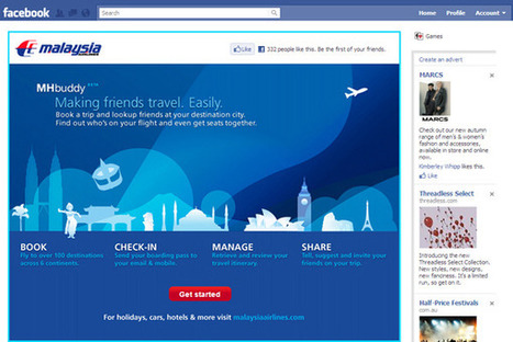 Malaysia Airlines lets you book on Facebook | Social Business | Scoop.it