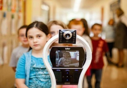Telepresence Robots: Connecting Online Students & Teachers | educacion-y-ntic | Scoop.it