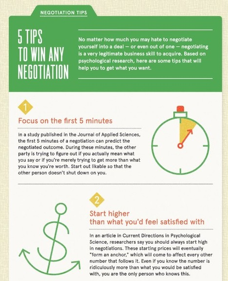 5 Ways To Win Any Negotiation | Daneea Badio | Scoop.it