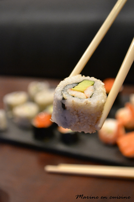 Marine prend un cours de sushis & makis  ! | Nourriture japonaise en France | Scoop.it