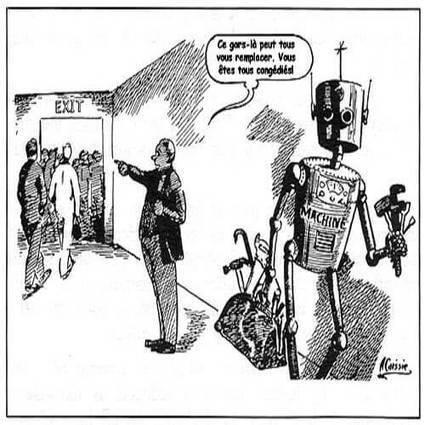 Quand les machines (vraiment) domestiquées libèreront l'homme | La nouvelle réalité du travail | Scoop.it