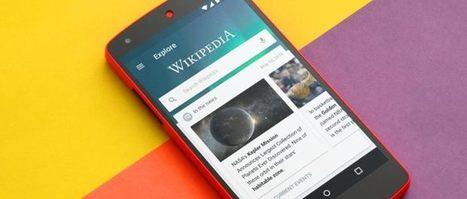 Wikipedia para Android se rediseña para ser una app de lectura de noticias y artículos | Aprendiendoaenseñar | Scoop.it