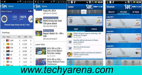 Download IPL 9 Android apk-Watch IPL 2016 live streaming on Android Tablet - Technology Arena | Android | Scoop.it
