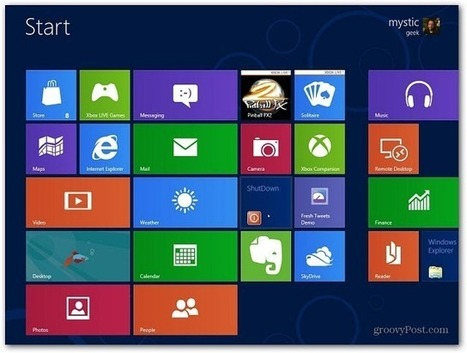 Create a Windows 8 Metro Shutdown Tile | Time to Learn | Scoop.it