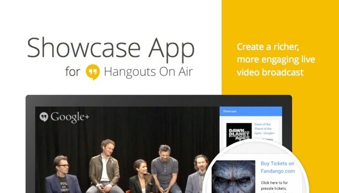 Google+ Launches Showcase To Show Rich Media To Viewers Of Hangouts On Air