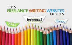 Top 5 Freelance Content Writing Websites of 2015 | CodeMink | Scoop.it