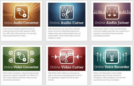 123apps, herramientas online para edición de Audio y Vídeo | Animación y Vídeo Digital | Scoop.it
