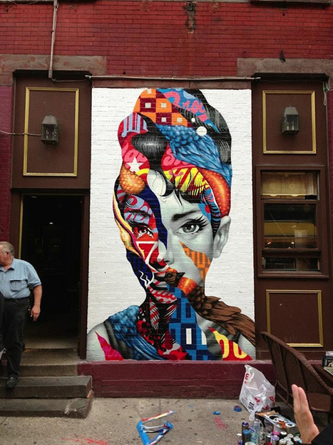 Audrey street art | Salto Agulha | Urban Life | Scoop.it