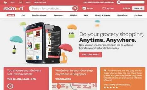 E. Saverin investit dans RedMart (Singapour), un supermarché en ligne | Actualité de l'E-COMMERCE et du M-COMMERCE | Scoop.it