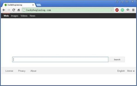 Remove Luckybeginning.com in Several Steps | Quick Malware Removal | Uninstall unwanted programs | Scoop.it