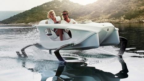 Quadrofoil, Archinaute... Ces bateaux écologiques qui veulent bousculer l'industrie nautique | TICE | Scoop.it