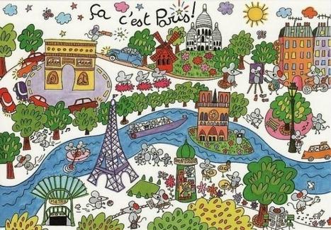 Petit guide interactif de Paris - Culture-FLE | Paris pepites | Scoop.it
