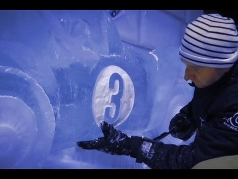 Michel Vaillant s'habille de glace à Bruxelles | Belgitude | Scoop.it