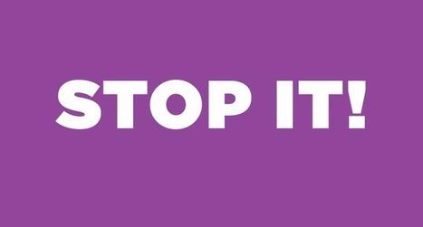 Stop it!   Web-Crunch   Webdesign et Ergonomie   Scoop.it