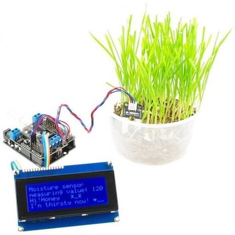 Garden Sensor Project | Hobbyes Radio, electronics, robot and DIY | Scoop.it