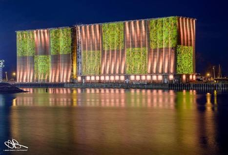 USA: Buffalo's silos illuminated | Grain Elevators | Scoop.it