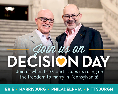 Why Marriage Matters Pennsylvania | Join us at a decision day rally! | Coffee Party Equality | Scoop.it
