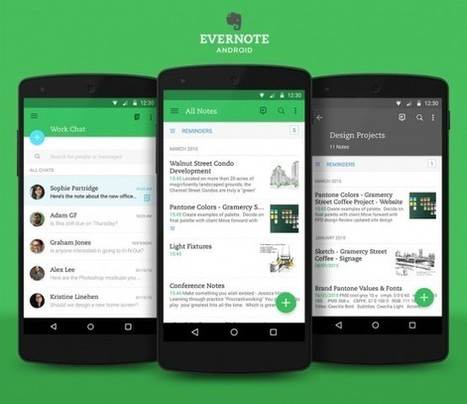 Evernote for Android gets sleek redesign | Evernote | Scoop.it