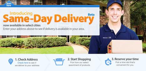 Wal-Mart lance la livraison le jour même | Digital Innovation | Scoop.it