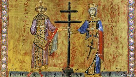Constantine's cross | history | Scoop.it