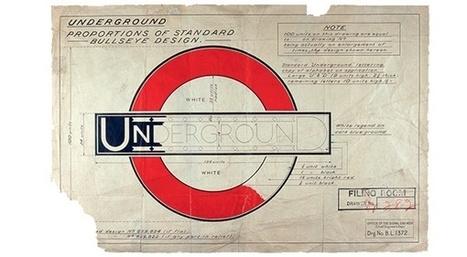 L'histoire du logo mythique des transports londoniens | Map@Print | Scoop.it