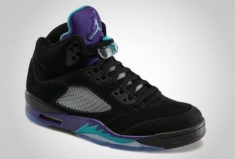Où acheter la Nike Air Jordan 5 Black Grape ? | sneakers-actus.fr | Scoop.it