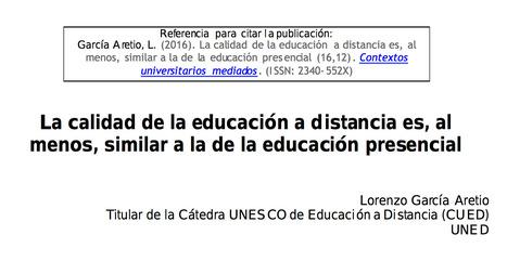 La calidad de la educación a distancia es, al menos, similar a la de la educación presencial | Café puntocom Leche | Scoop.it